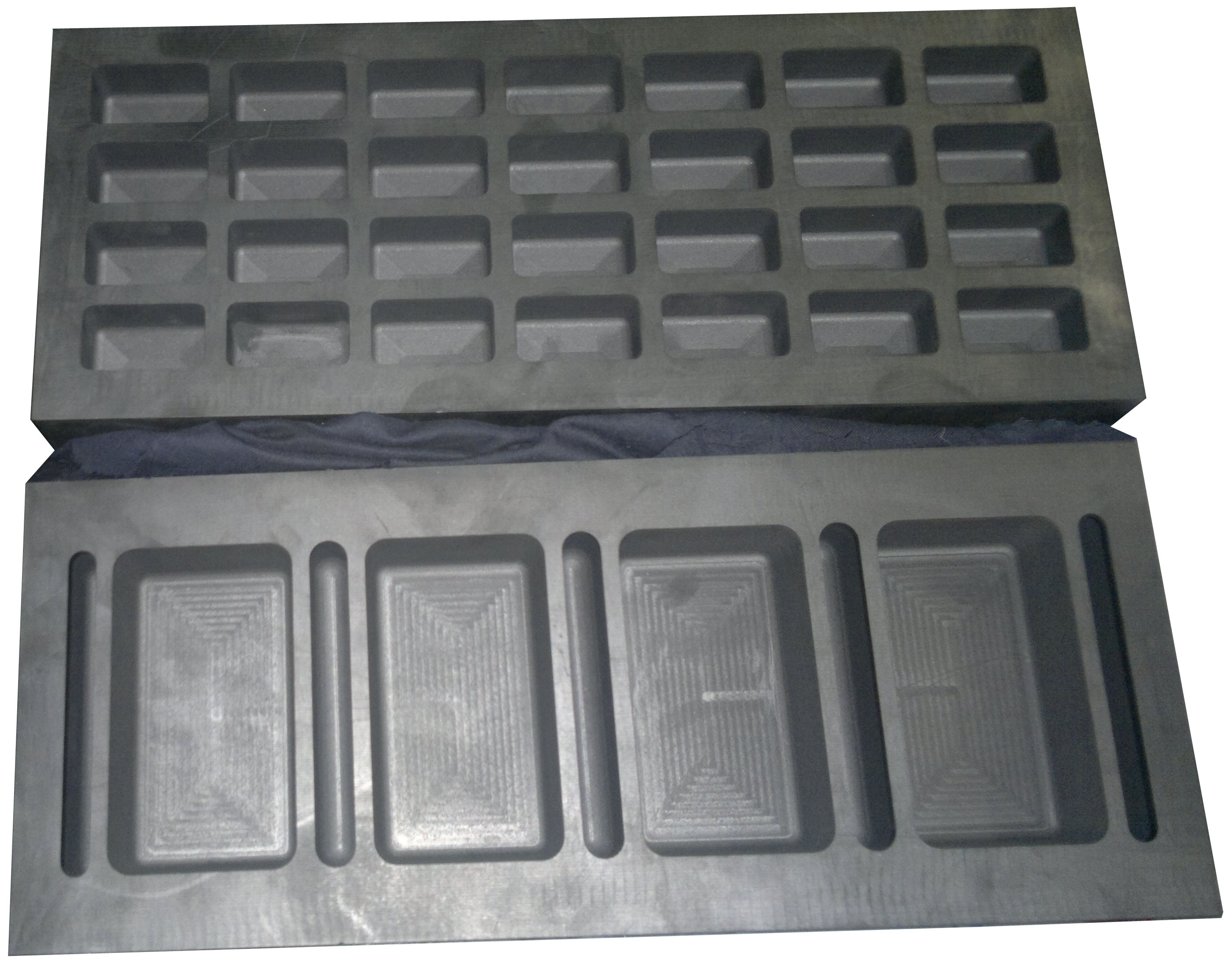Gold Bar Graphite Mould