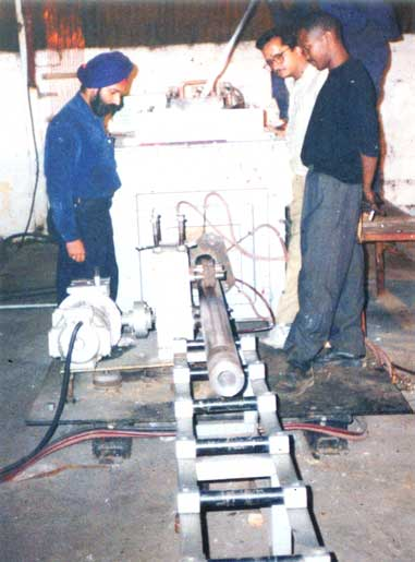 Horizontal Rod Casting Machine